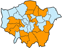 Map of London